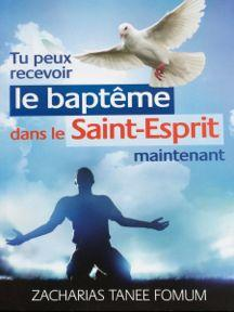 You Can Receive The Baptism into The Holy Spirit Now!